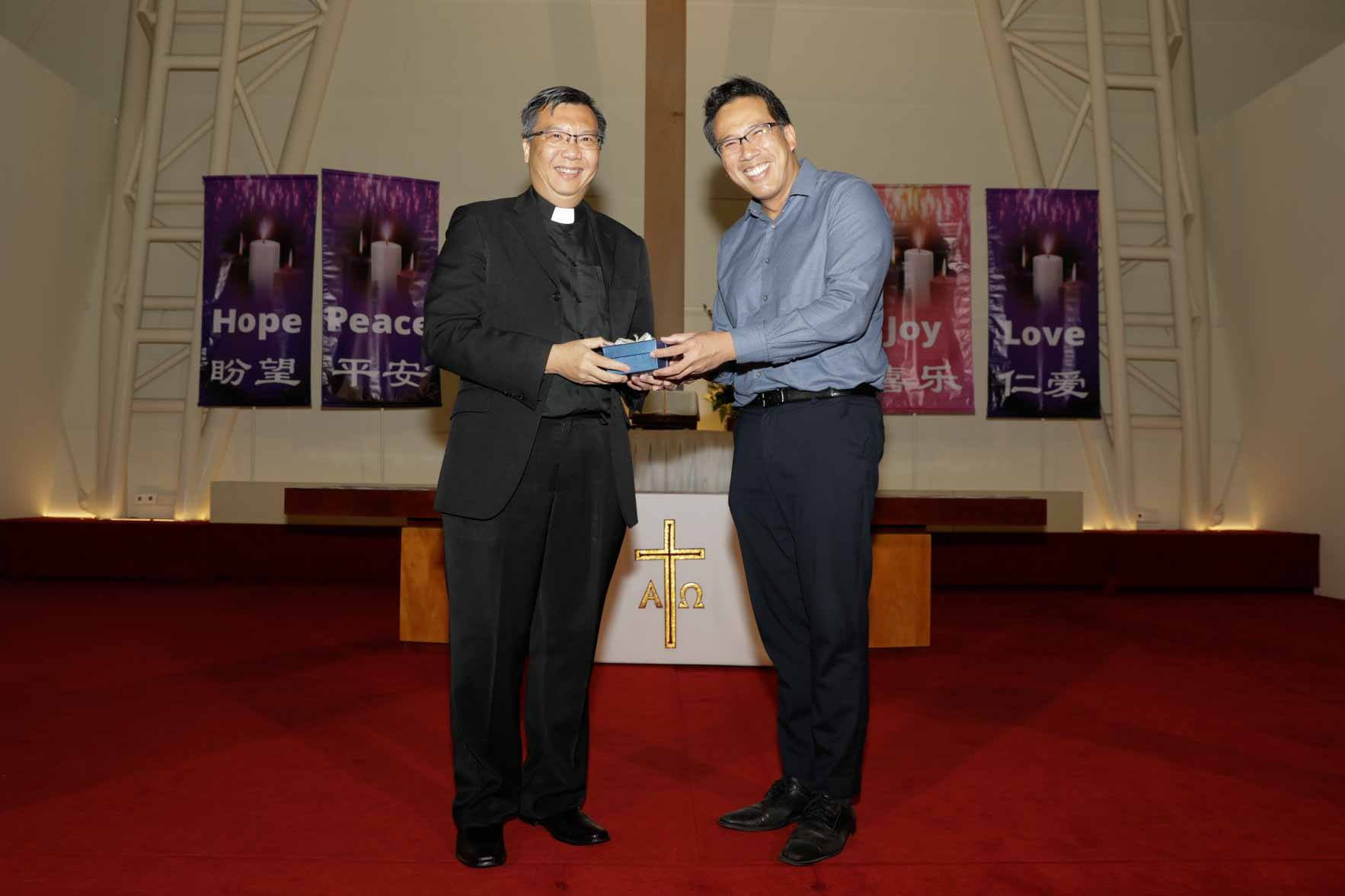 Farewell from Rev Leow