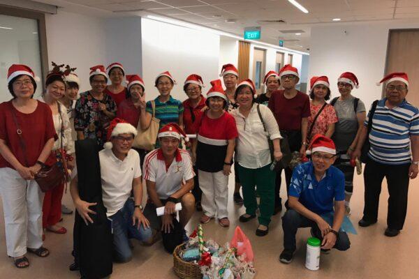 Christmas Carolling @ Sengkang General Hospital